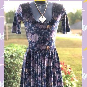 Kimchi Blue Velvety Dress - XS